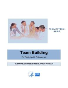 Facilitator´s Guide - Team Building - TEPHINET