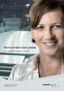 Roll-bonded clad plates - Voestalpine