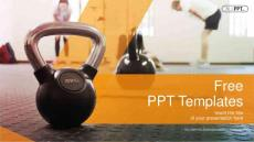 ppt模板Workout-with-Ket..