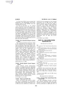 THE UNITED STATES MUNITIONS LIST