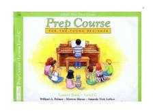 Alfred´s Basic Piano Library - Prep Course - for the young beginner - Lesson Book - Level C