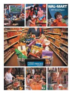 wal-mart annual report