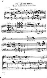 Handel Messiah No.3 Every Valley Shall Be Exalted