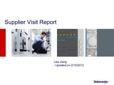 Supplier Visit Report -Flash