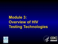 Module 3 Overview of HI..