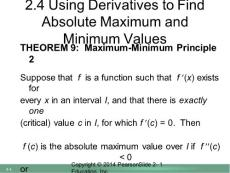 Using Derivatives to Fi..