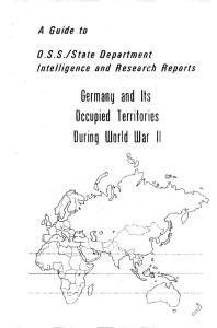 germany and its occupied territories during world …