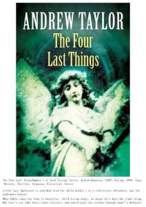 Andrew Taylor - [Roth 01] - The Four Last Things (epub)