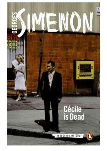Georges Simenon - [Inspector Maigret 20] - Cecile is Dead (Maigret and the Spinster) (retail) (epub)