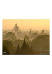 2011年6月12日 Sunrise Skyline, Bagan