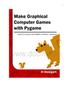 Making Games with Python  Pygame